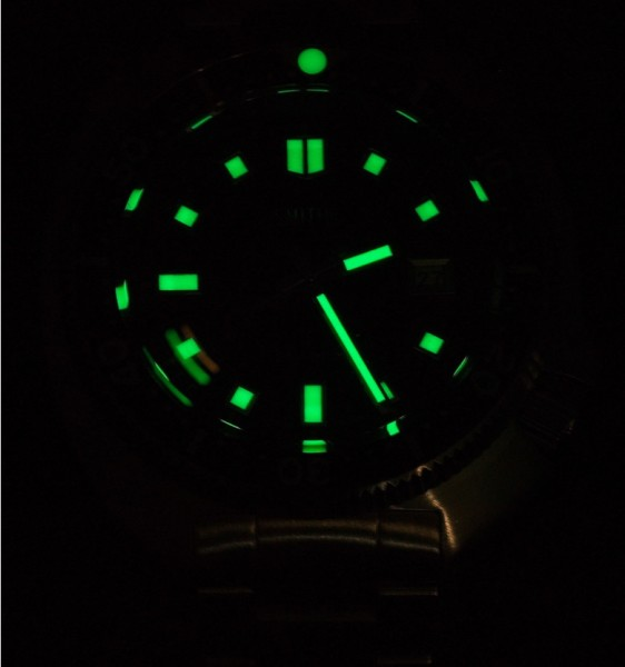 Smiths Diver PRS-68 Brightly Aglow